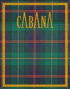Diverse copertine in tessuto Cabana Magazine, Fashion Magazines, Neon Signs