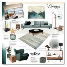 """""""Untitled #929"""" by louise-stuart ❤ liked on Polyvore featuring interior, interiors, interior design, home, home decor, interior decorating, Castor, Modernica, David Gaynor and By Lassen"""