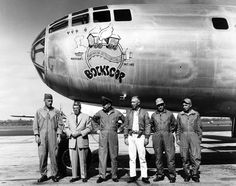 Picture takers on the enola gay