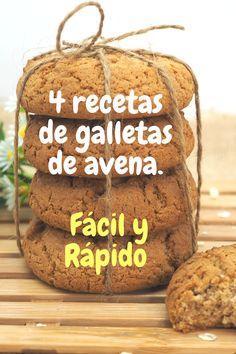 Gluten Free Recipes, Bread Recipes, Cooking Recipes, Vegan Recipes, Avena Recipe, Sweet Desserts, Sweet Recipes, Mexican Food Recipes, Dessert Recipes