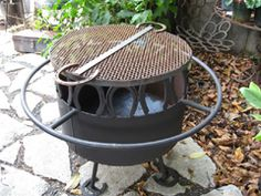 "Horseshoe Welding Projects | Horseshoe Firepit - Custom Designs - 24""h x 24""w- $295 (prices approx ..."