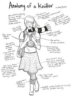 Anatomy of a Knitter