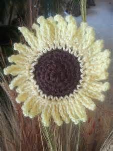 <b>Sunflower</b> <b>Crochet</b> <b>Pattern</b>
