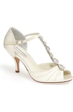 Benjamin Adams London 'Mia' Crystal Embellished Sandal available at #Nordstrom