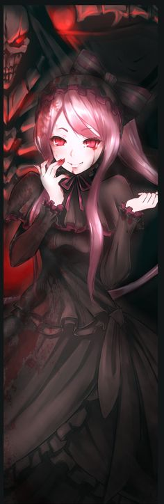 Overlord - Ainz Ooal Gown and Shalltear Bloodfallen Otaku Anime, Manga Anime, Anime Group, Fan Art, Albedo, Demon Slayer, Dark Anime, Anime Artwork, Anime Girls