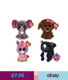 Ty Plush Ty Beanie Boo Babies Plush Soft Toy With Tags Maddie Specks Flora  Fantasia   9baa321fc4cc