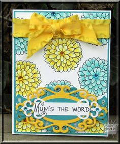 Mum's the word... Very creative for a surprise!
