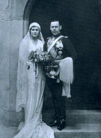 Princess Margarita of Greece (1905-1981) and Prince Gottfried of Hohenlohe-Langenburg (1897-1960)