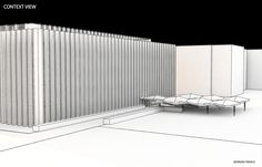 Hunt Library Canopy Contextual View #kerrianfrance #48105-S15