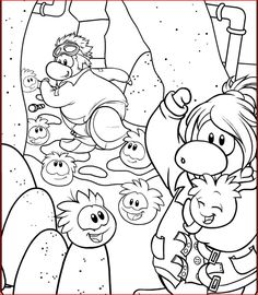 Best Club Penguin Cool Coloring Pages - http://coloringpagesgreat ...