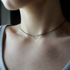 Choker Necklace short necklace 90s jewelry 90s necklace gothic jewelry minimal jewelry minimal choker circle choker simple choker necklace by Minkykitten on Etsy https://www.etsy.com/listing/234257002/choker-necklace-short-necklace-90s