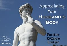 Worry that you're no longer attracted to your husband? Here's how to appreciate his body once again! #marriage