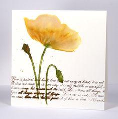 penny black stencil flower | cas fabriano watercolour paper penny black stamps penny black stencils ...