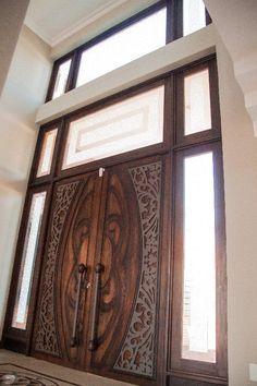 Main Entrance Door Design, Door Gate Design, Wooden Door Design, Door Design Interior, Main Door, Modern Wooden Doors, Modern Door, Wooden Glass Door, Modern Exterior Doors