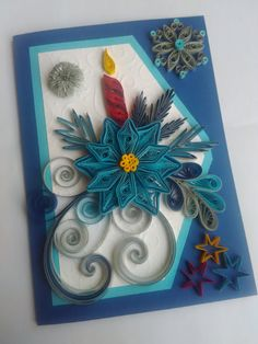 Hey, I found this really awesome Etsy listing at https://www.etsy.com/listing/477783927/quilling-christmas-card-quilled-card