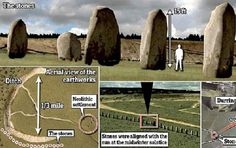 """Massive """"Superhenge"""" Site Discovered Buried One Mile Away From Stonehenge – by John Vibes A massive megalithic site was discovered near Stonehenge this week, buried under the ground, just one mile from the world-famous rock formation in Wiltshire, England. The researchers found roughly 90 large stones using remote sensing and geophysical imaging technology. """"These latest... #stonehenge"""