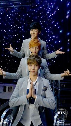 LOL Jimin & V & J-Hope @ STAFF DIARY
