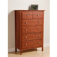 Claremont Cherry 5 Drawer Dresser 234