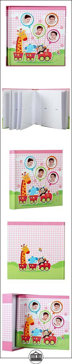 Elegante bebé jirafa álbum de fotos para 200fotos de 10x 15cm), color rosa  ✿ Regalos para recién nacidos - Bebes ✿ ▬► Ver oferta: http://comprar.io/goto/B01AC7LN10