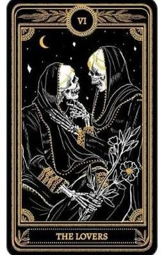 The Marigold Tarot Major Arcana: Die Liebenden Amrit Brar 2017 Derzeit finanziert . - Бродяжка рыжая - - The Marigold Tarot Major Arcana: Die Liebenden Amrit Brar 2017 Derzeit finanziert . Inspiration Art, Art Inspo, Creative Inspiration, The Lovers Tarot Card, Art Carte, Arte Obscura, Tarot Major Arcana, Art Vintage, Occult Art