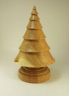 Woodturning Christmas Trees | Found on sunrisewoodwork.com