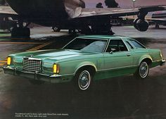 1978 Ford Thunderbird Hardtop I bought a brand new one, it was amber metallic with brown interior.