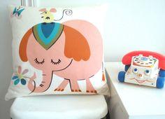 Edie Elephant Cushion