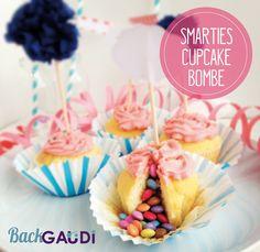 Smarties Cupcake – BackGAUDI