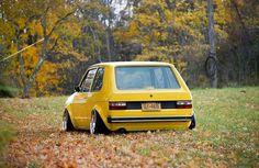 MkI Classic Golf, Classic Cars, Golf Mk1, Porsche, Audi, Vw Mk1, Volkswagen Group, Yellow Car, Dream Garage