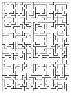 Free Mazes Great for the Kidlettes on Trips