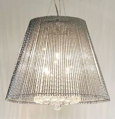 Ice Queen Metal and Crystal Pendant Light (3 Sizes)