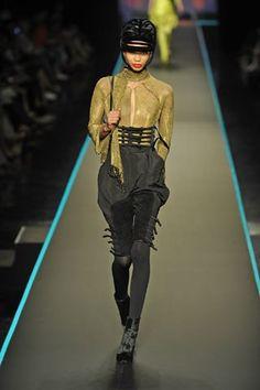 Jean Paul Gaultier Fall 2008 Couture Fashion Show - Chanel Iman