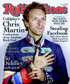Rolling Stone, June 2008: Chris Martin