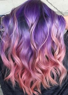 31 Pink and Purple Hair Looks > CherryCherryBeauty.com