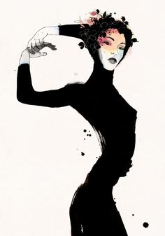Conrad Roset is a watercolor and ink artist based out of his studio in Barcelona, Spain. Roset, who was profoundly influenced at a young age by the enigmatic Expressionist, Egon Scheile, explores t… Art And Illustration, Charles Gleyre, Spoke Art, Art Inspo, Art Reference, Amazing Art, Fantasy Art, Cool Art, Art Drawings