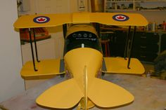 Tiger Moth Pedal Plane for William Woodworking Toys, Woodworking Projects, Wooden Rocker, Tiger Moth, Swing Design, Pedal Cars, Under Stairs, Plane, Jeep