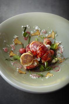 Restaurant Jean-François Piège #plating #presentation