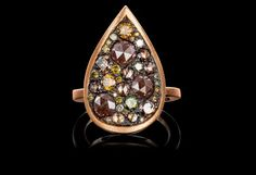 Starstruck ring by jeweller Joke Quick, has it not an Indian touch?