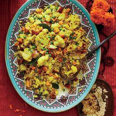 Tahiree Vegetable and Rice Casserole | Myrecipes