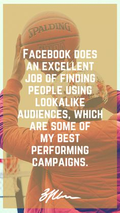 5 Actionable Facebook Ad Tactics -#digitalmarketing #onlinemarketing #onlineadvertising #facebook #facebookads #facebookadvertising #socialmedia #socialmediamarketing #smallbusiness Online Advertising, Online Marketing, Social Media Marketing, Digital Marketing, Find People, Look Alike, I Am Awesome, Campaign, Ads