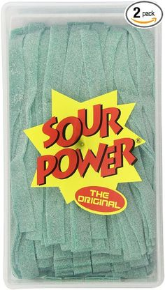 SOUR POWER Berry Blue Candy Belts, 150 Pieces, Ounce Sour Power Berry Blue Flavor 150 Delicious Berry Blue Belts Sour and great tasting belts Candy Recipes, Gourmet Recipes, Candy Notes, Candy Pictures, Candy Drinks, Sour Patch Kids, Sour Candy, Candy Wrappers, Favorite Candy