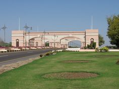 The gateway to the town of Sohar in Oman.