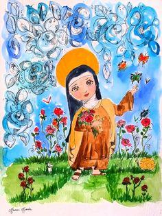 Santa Teresinha do Menino Jesus ( Maureen Miranda )