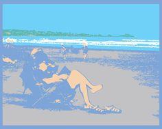 Digital Illustration by Mark Pizza, via Behance