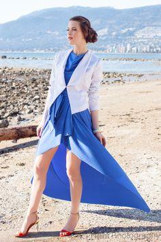 Third Beach, BC, Fashion photo shoot