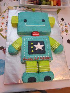 Robot cake!