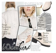 """""""Yoins 1: Winter Style"""" by pokadoll ❤ liked on Polyvore featuring Disney, MustHave, winter2015 and yoins"""