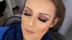 Maquiando cliente #9 make delicada em tons rosados/com glitter- Vanessa ...