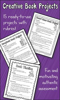 book report projects for 2nd graders