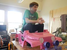 From Barbie to Badass: The Make Lab Rats Transform a Power Wheels Jeep